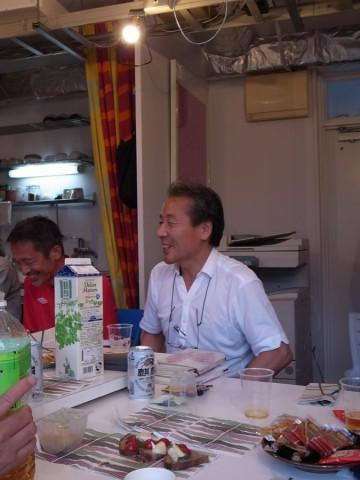 苦労された学生時代のお話もさわやかな笑顔の藤原さん