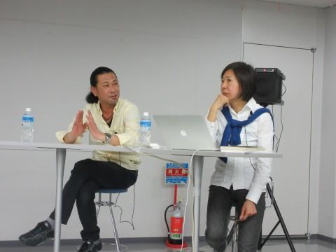 右:林美樹さん 左:江原久紀さん
